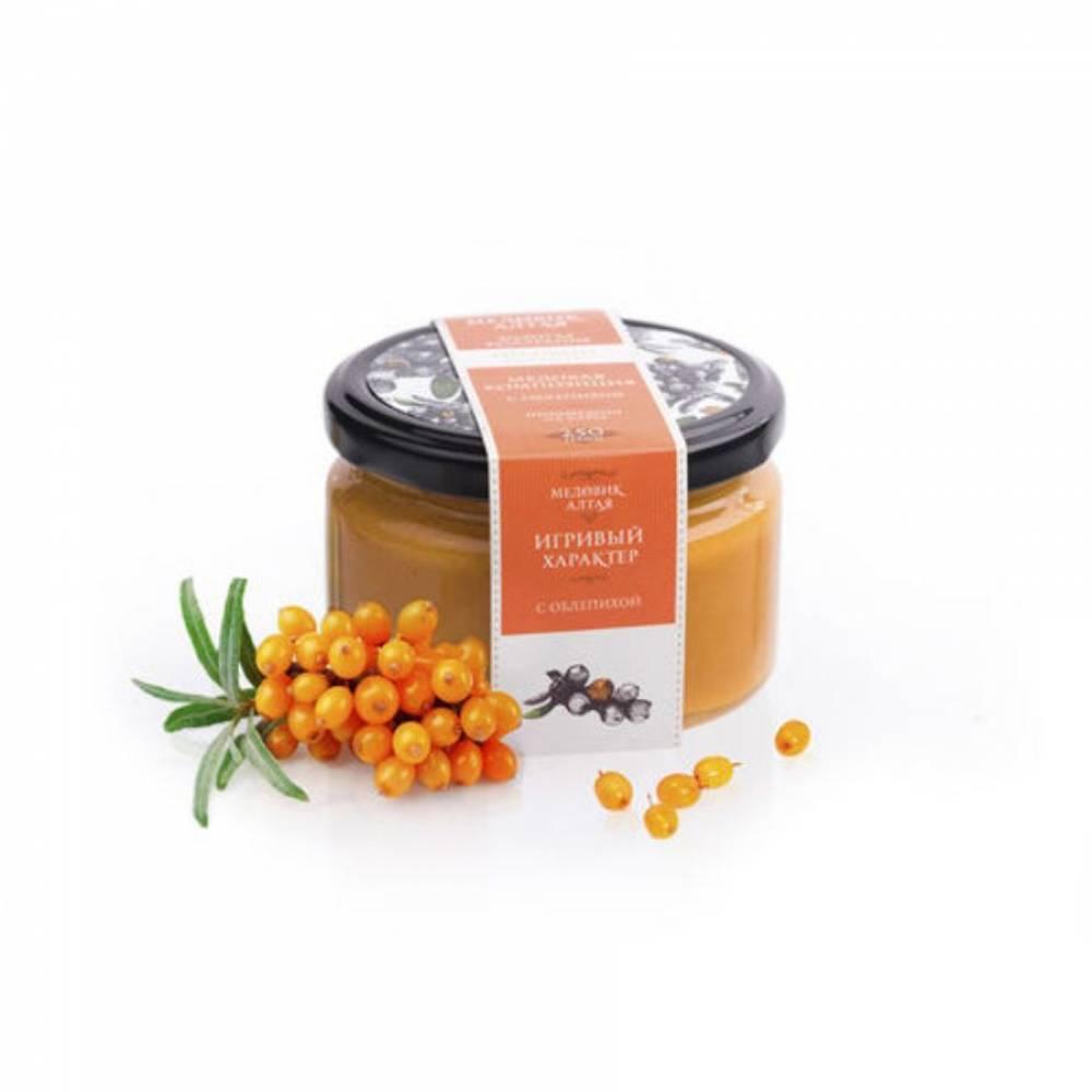 Мёд с облепихой Медовик Алтая, 250 гр