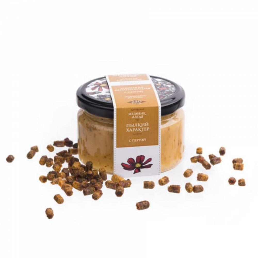 Мёд с пергой Медовик Алтая, 250 гр