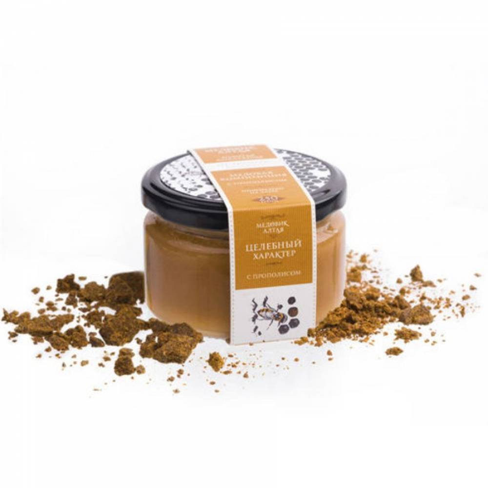 Мёд с прополисом Медовик Алтая, 250 гр