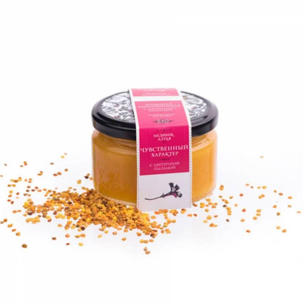 Мёд с пыльцой Медовик Алтая, 250 гр