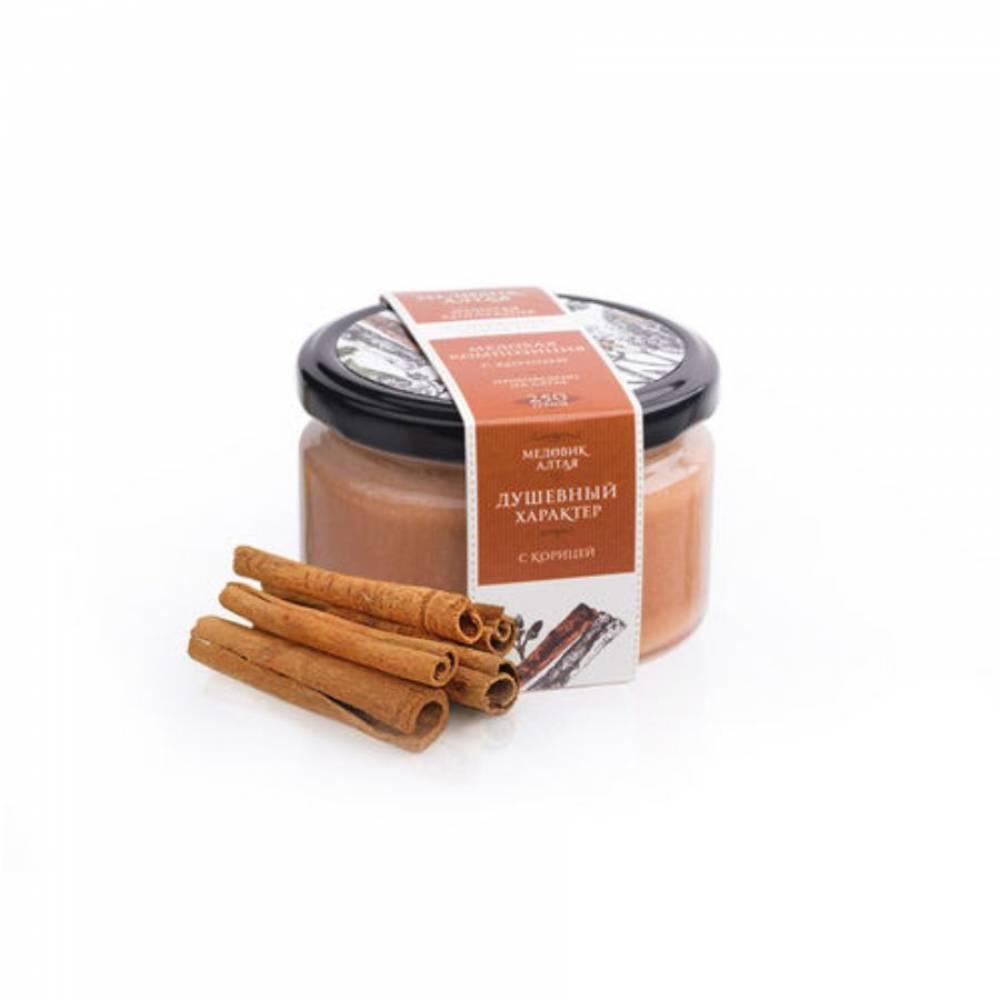 Мёд с корицей Медовик Алтая, 250 гр