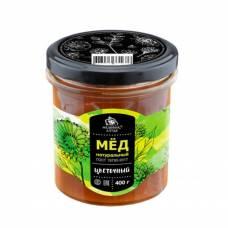 Цветочный мёд натуральный Медовик Алтая, 400 гр