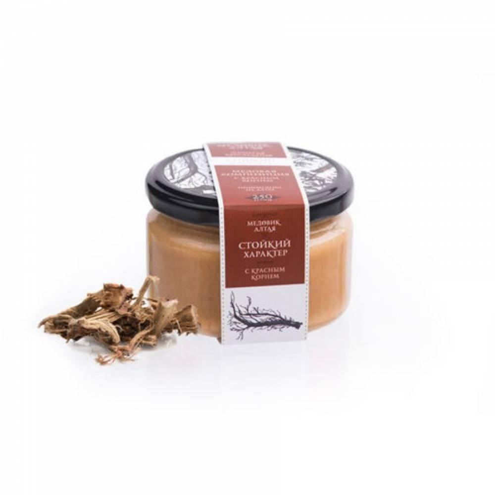 Мёд с красным корнем Медовик Алтая, 250 гр