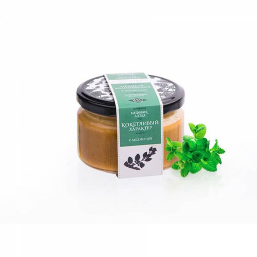 Мёд с мелиссой Медовик Алтая, 250 гр