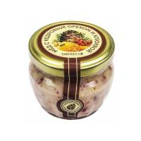 Мёд с кедровым орехом и клюквой SIBERECO, 95 мл