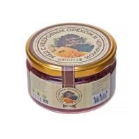Мёд с кедровым орехом и черникой SIBERECO, 220 мл