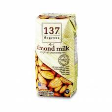 Миндальное молоко без сахара 137 Degrees, растительное молоко, 180 мл