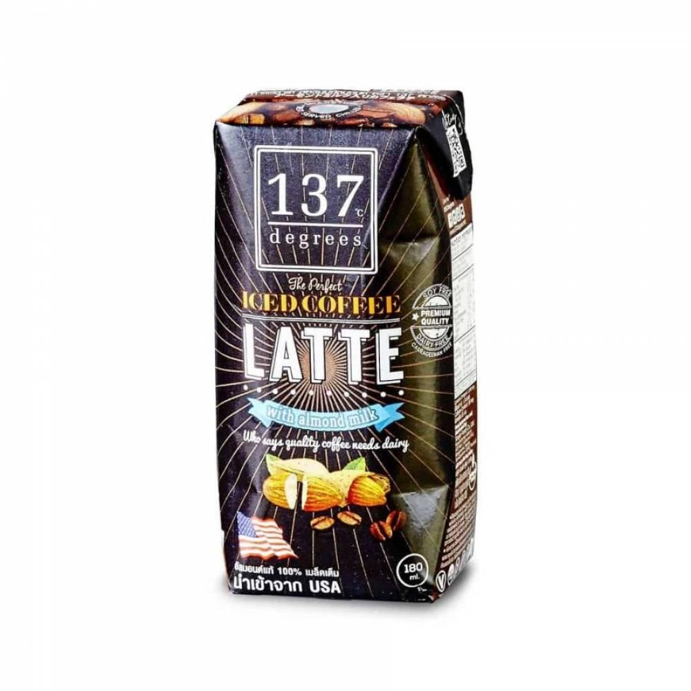 Кофе Латте на миндальном молоке 137 Degrees, 180 мл