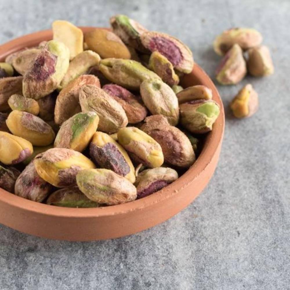 Фисташки очищенные, сырые, орехи, 250 гр