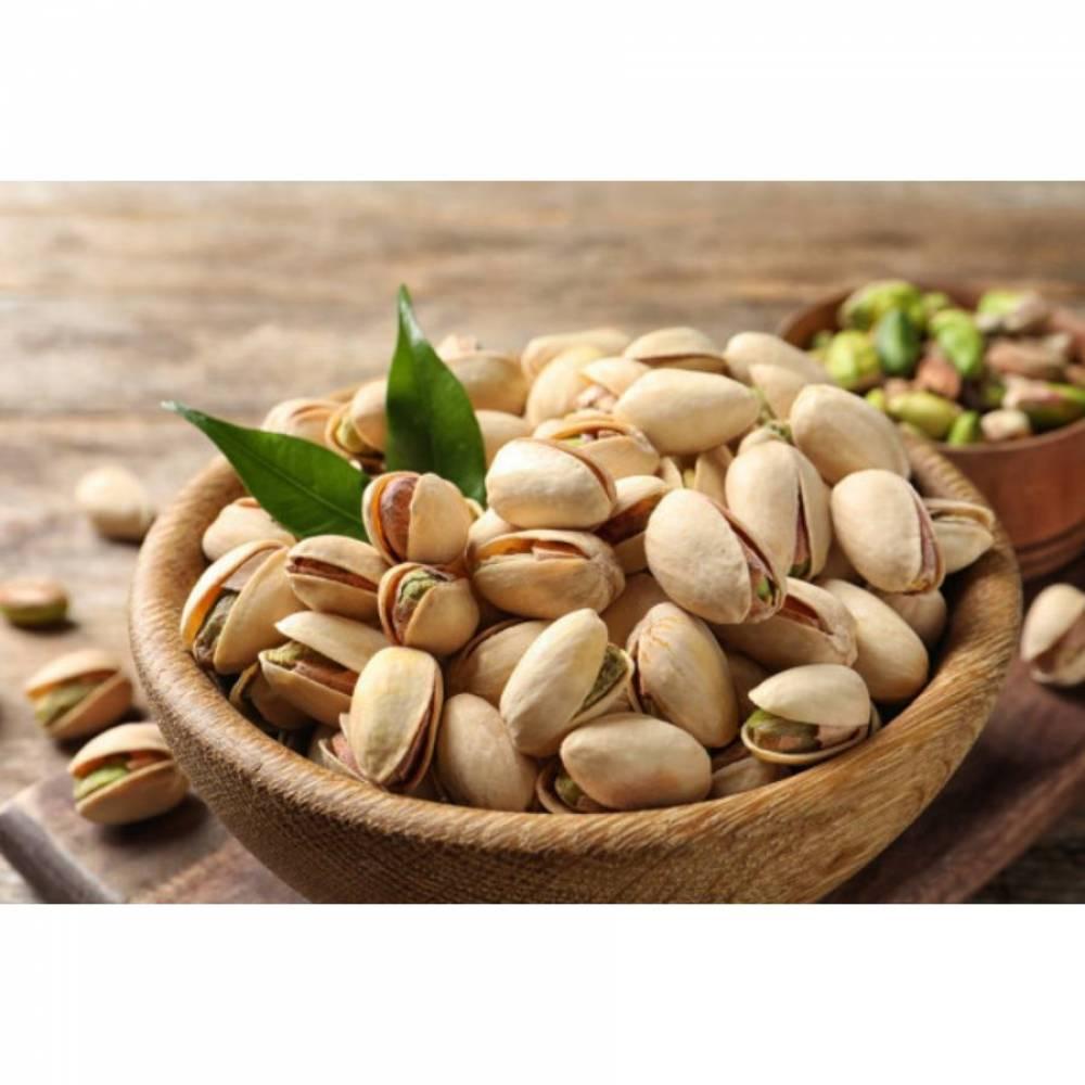 Фисташки сырые, в скорлупе, орехи, 500 гр