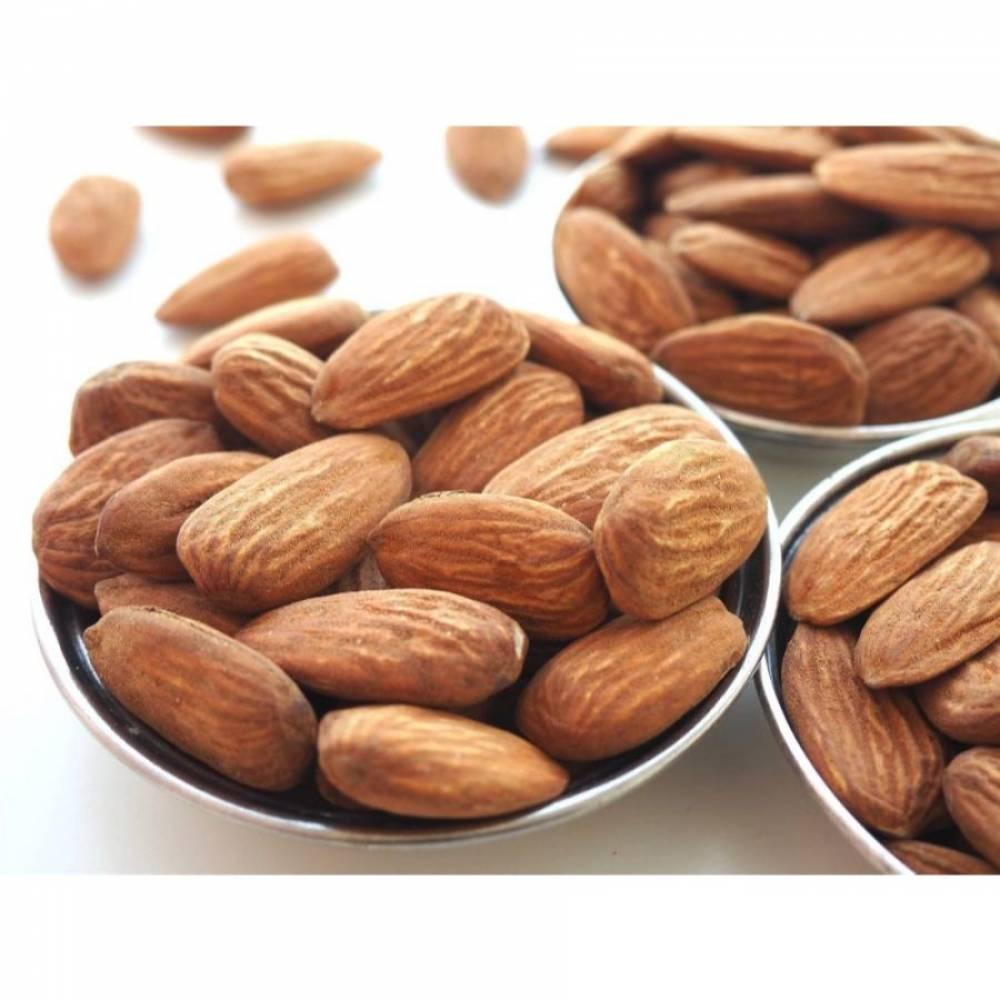 Жареный миндаль очищенный, орехи, 250 гр
