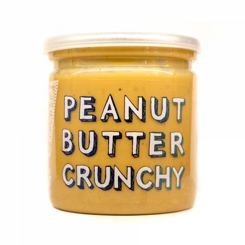 Арахисовая паста хрустящая Crunchy, Grizzly Nuts, 200 гр
