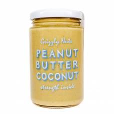 Арахисовая паста с кокосом Coconut, Grizzly Nuts, 370 гр