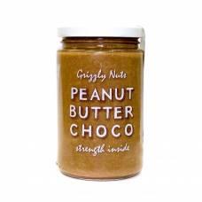 Арахисовая паста шоколадная Chocolate, Grizzly Nuts, 370 гр