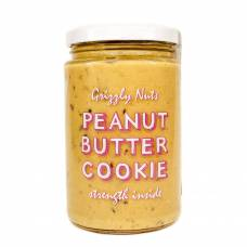 Арахисовая паста с финиками Cookie, Grizzly Nuts, 370 гр