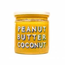 Арахисовая паста с кокосом Coconut, Grizzly Nuts, 200 гр