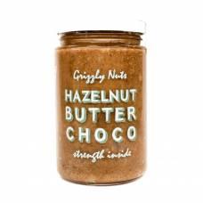 Ореховая паста из фундука шоколадно-медовая, Grizzly Nuts, 350 гр