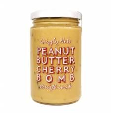 Арахисовая паста с вяленой вишней Cherry Bomb, Grizzly Nuts, 370 гр