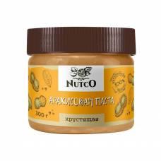Арахисовая паста NUTCO хрустящая, 300 гр