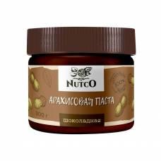 Арахисовая паста NUTCO шоколадная, 300 гр