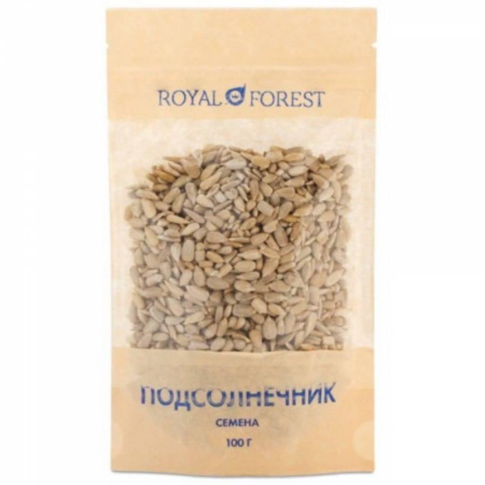 Семена подсолнечника Royal Forest, 100 гр