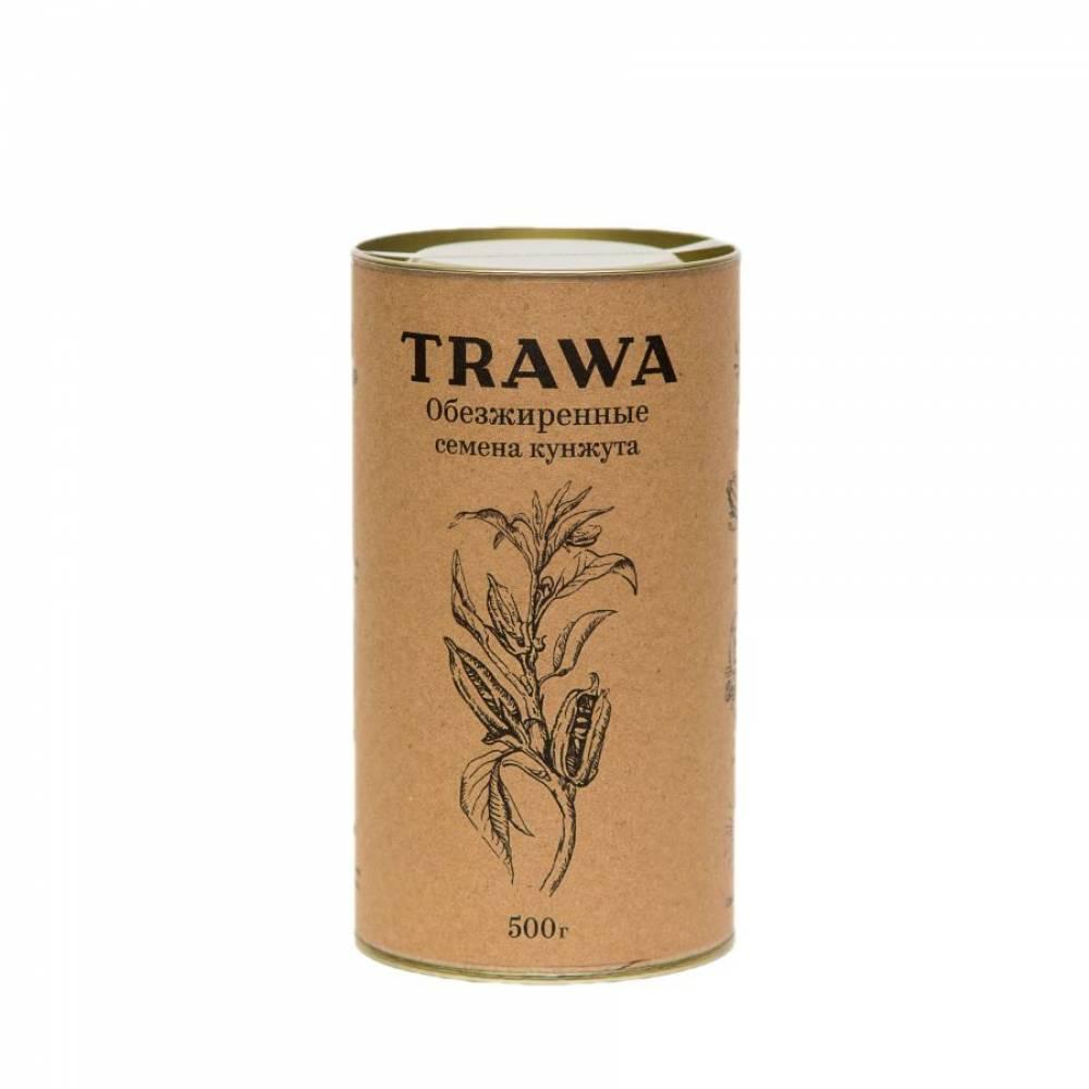 Обезжиренная кунжутная семечка TRAWA, 500 гр