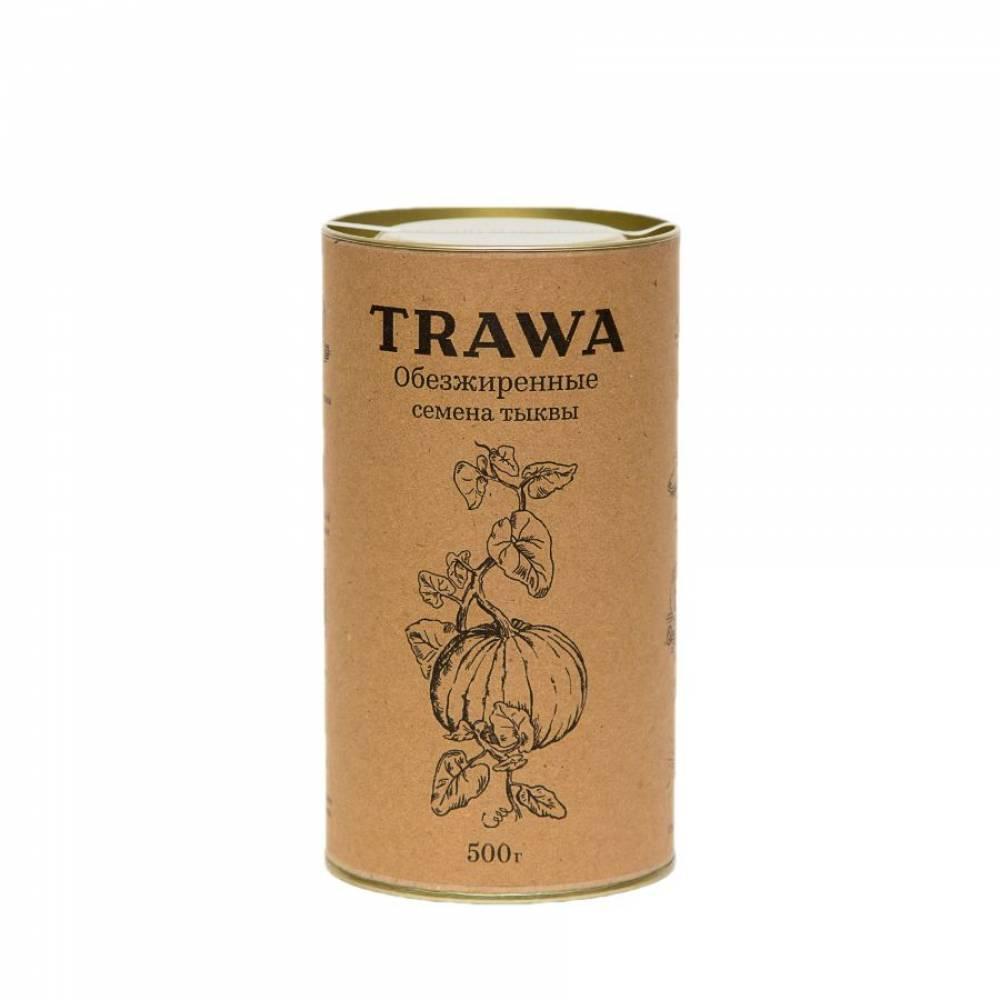 Обезжиренная тыквенная семечка TRAWA, 500 гр