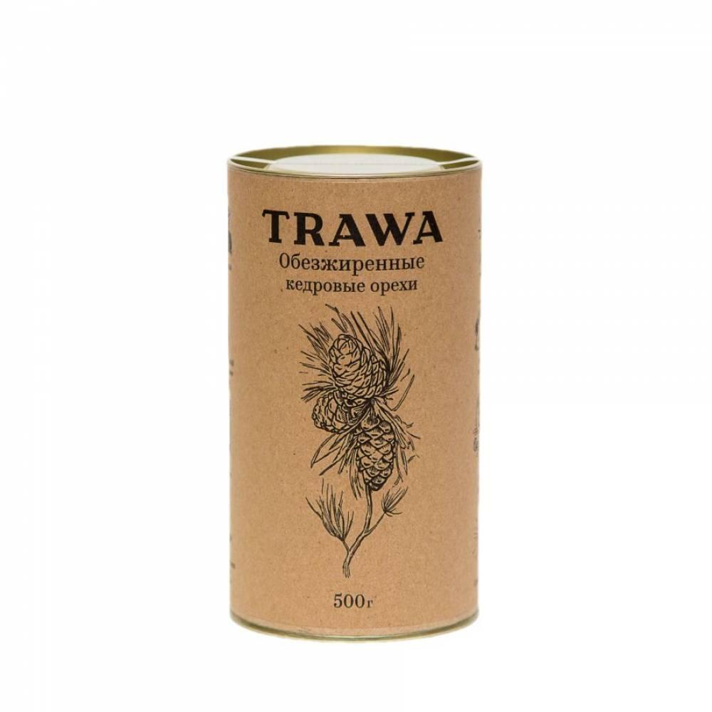 Обезжиренный кедровых орех TRAWA, 500 гр