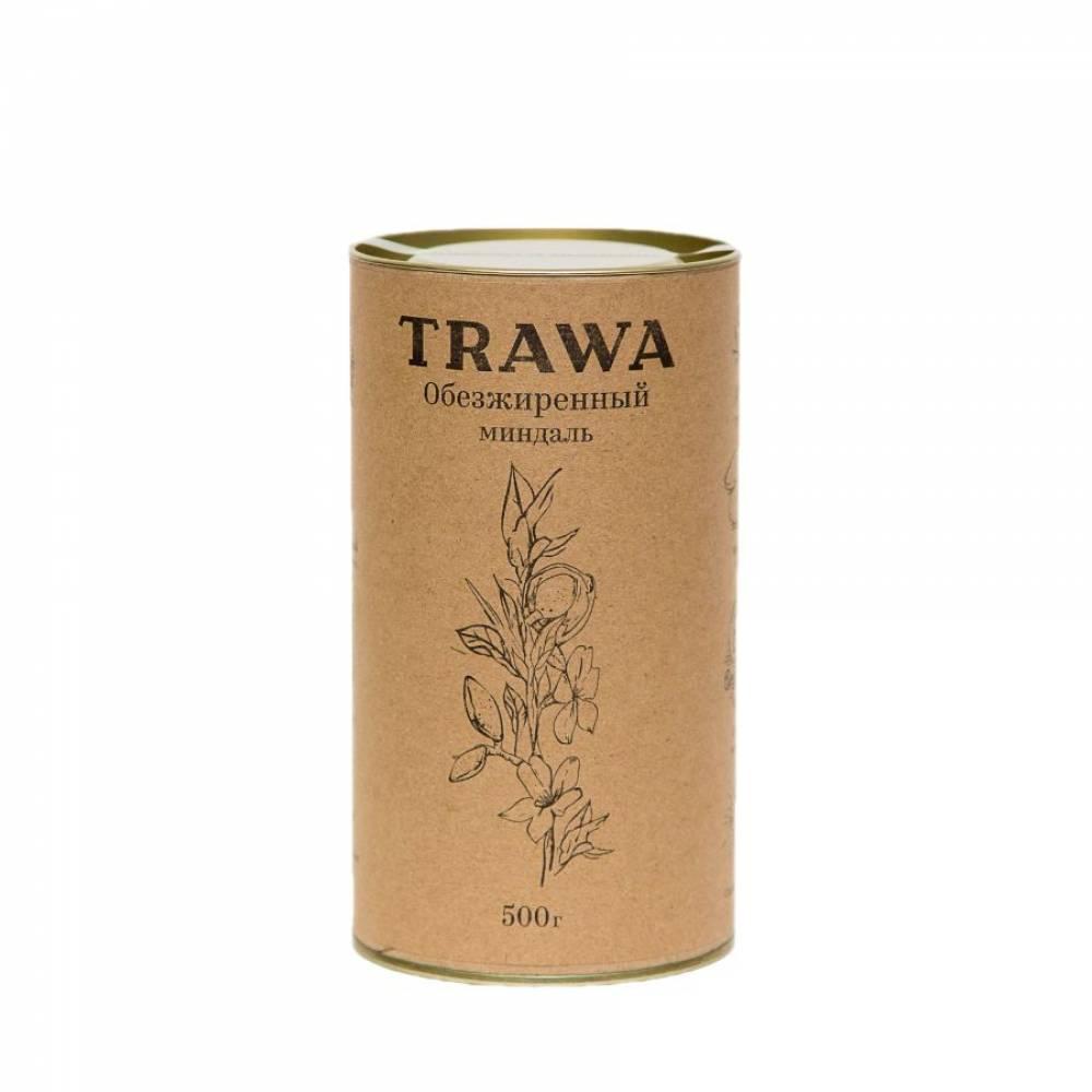 Обезжиренный миндальный орех TRAWA, 500 гр