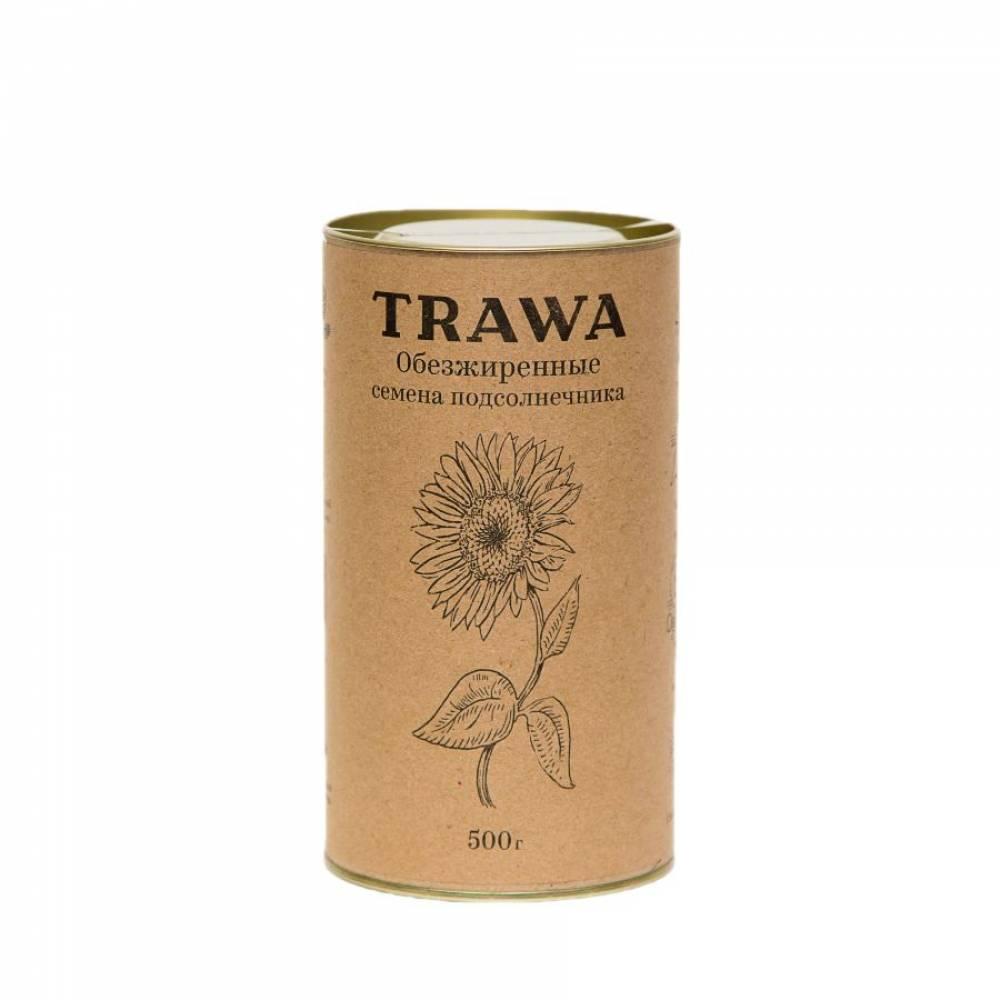 Обезжиренная подсолнечная семечка TRAWA, 500 гр