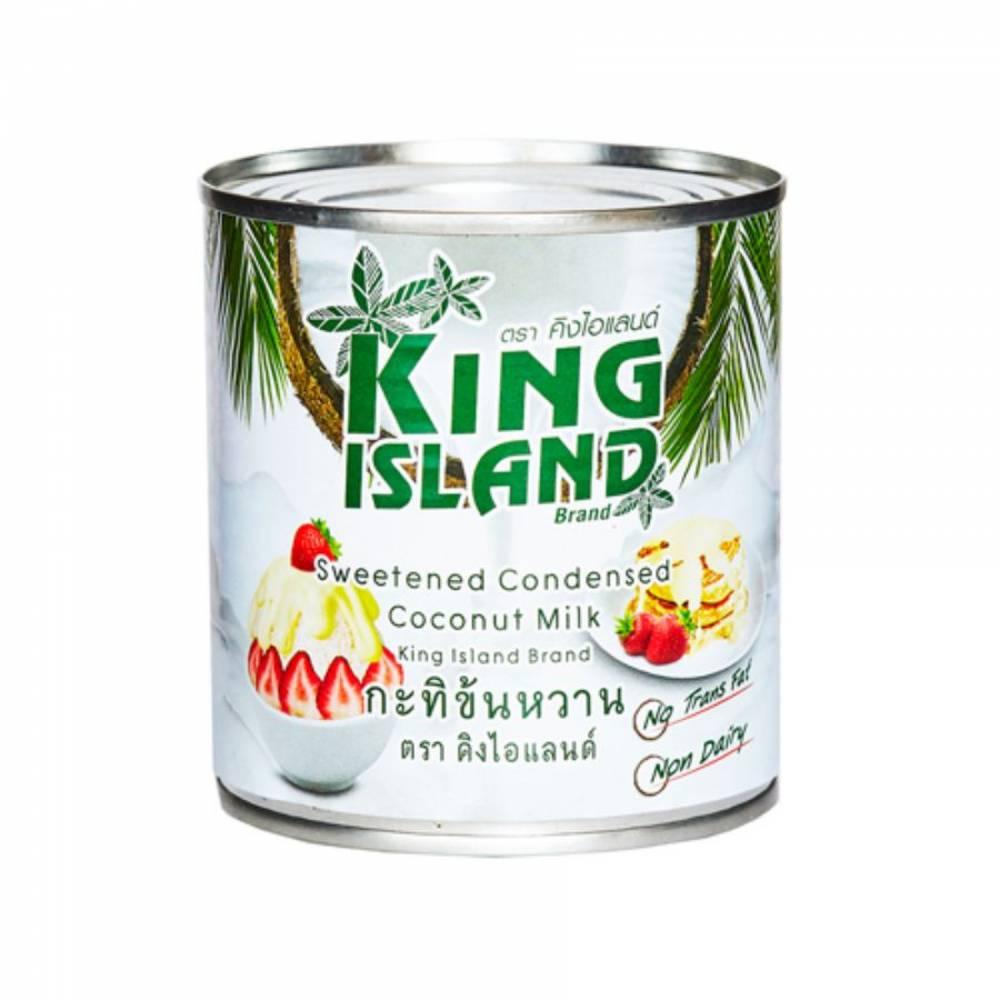 Сгущенное кокосовое молоко KING ISLAND, 380 гр