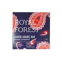 Шоколад из кэроба Royal Forest арабский с бадьяном и кардамоном, 75 гр