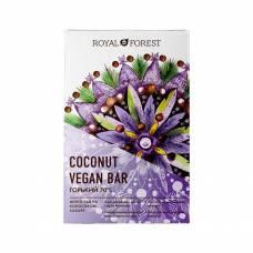Горький шоколад Royal Forest веганский, 70% Vegan Coconut Bar, 50 гр