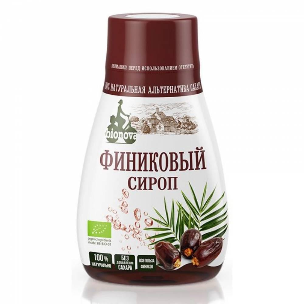 Финиковый сироп, органический Бионова, 230 гр