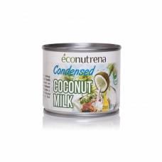 Сгущенное молоко кокосовое Econutrena United Spices 100% органика, 200 мл