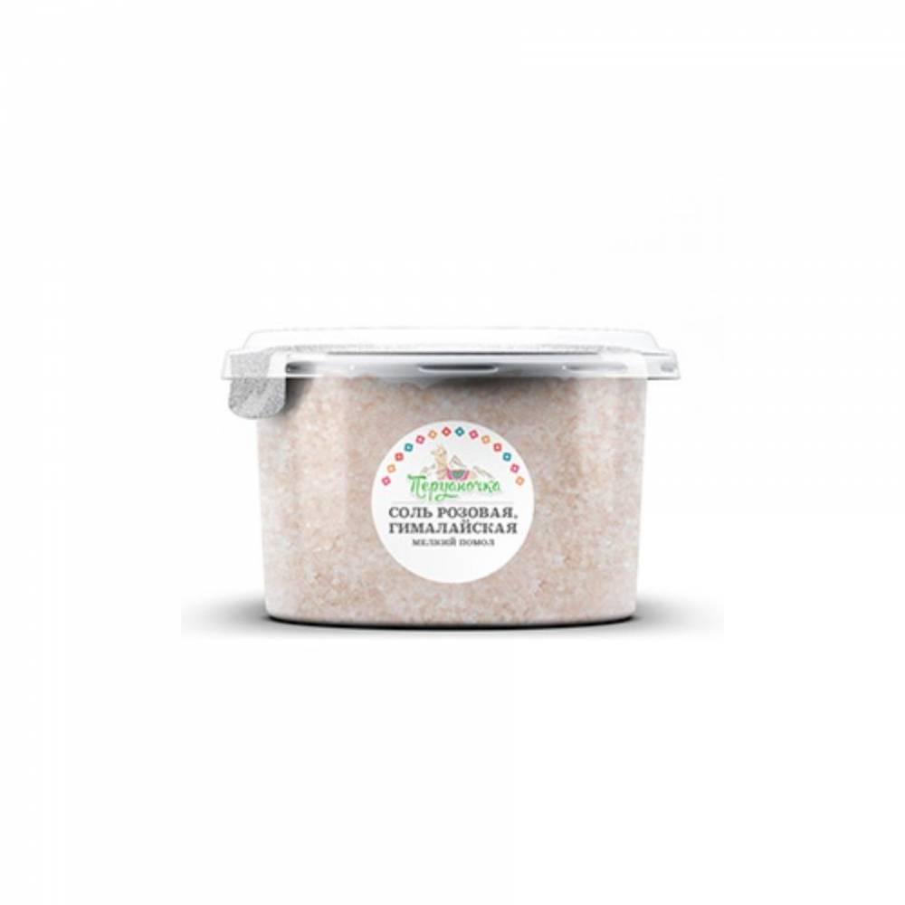 Розовая гималайская соль Перуаночка, мелкий помол, 500 гр