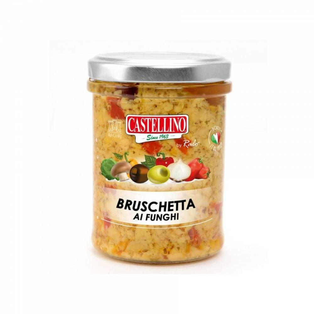 Соус Брускетта из грибов, Castellino, 180 гр