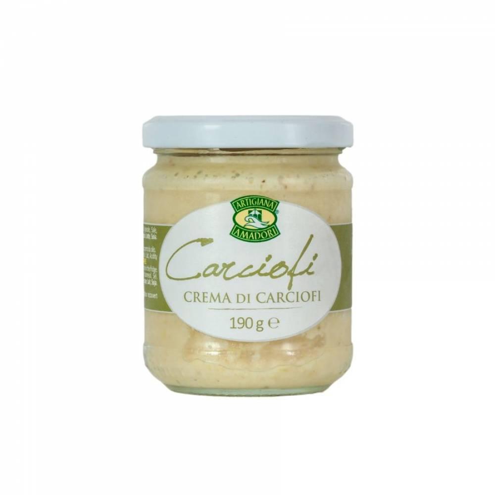 Соус-крем из артишоков на подсолнечном масле, Artigiana Amadori, 190 гр