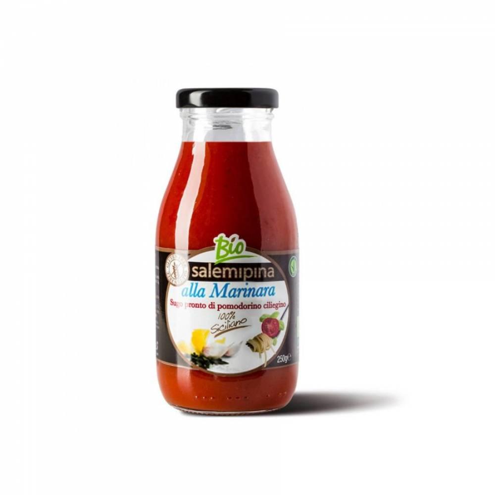 Томатный соус без глютена из сицилийских помидоров черри Маринара, Salemipina, 250 гр