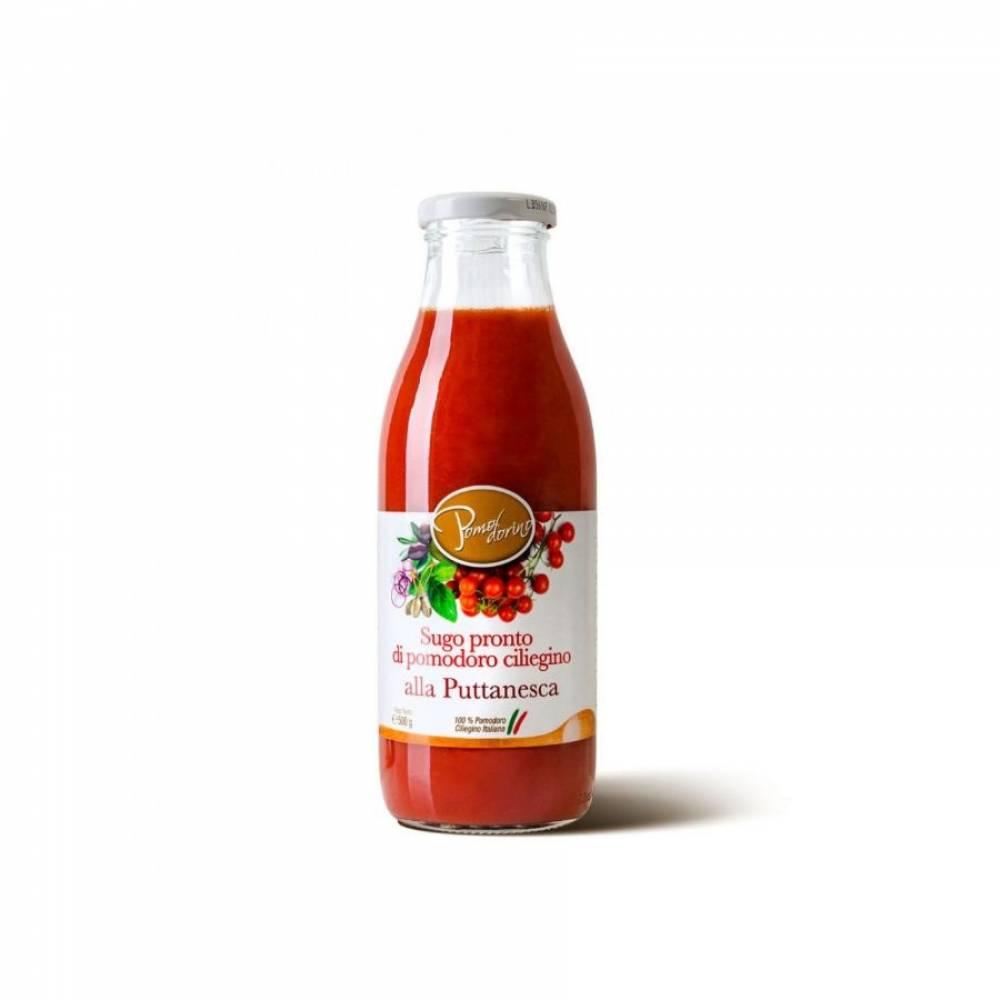 Томатный соус из сицилийских помидоров черри Путтанеска, Pomodorino, 500 гр