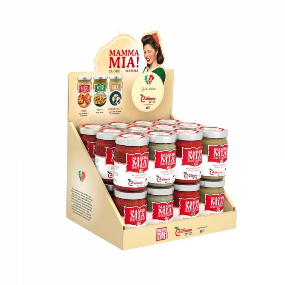 Соус Пате из помидоров, Mamma Mia, 130 гр