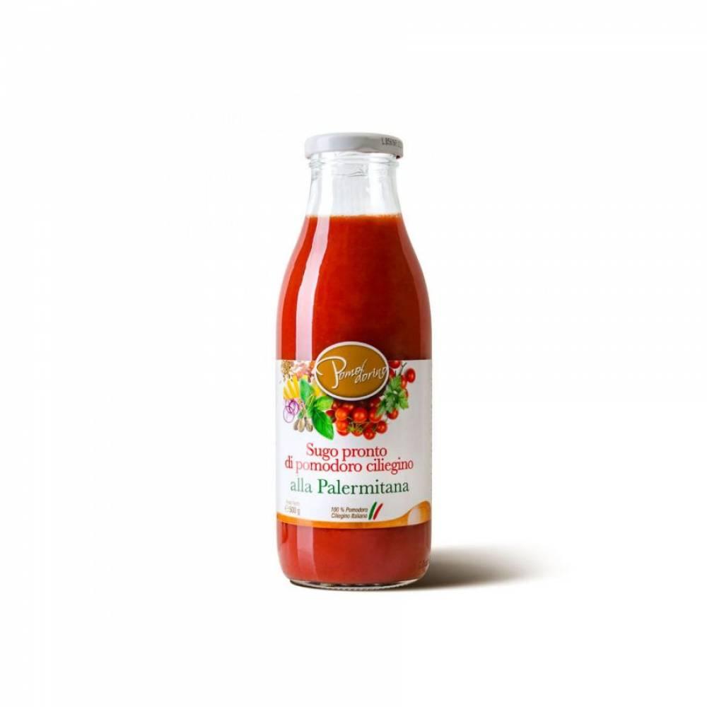 Томатный соус из сицилийских помидоров черри Палермитана, Pomodorino, 500 гр