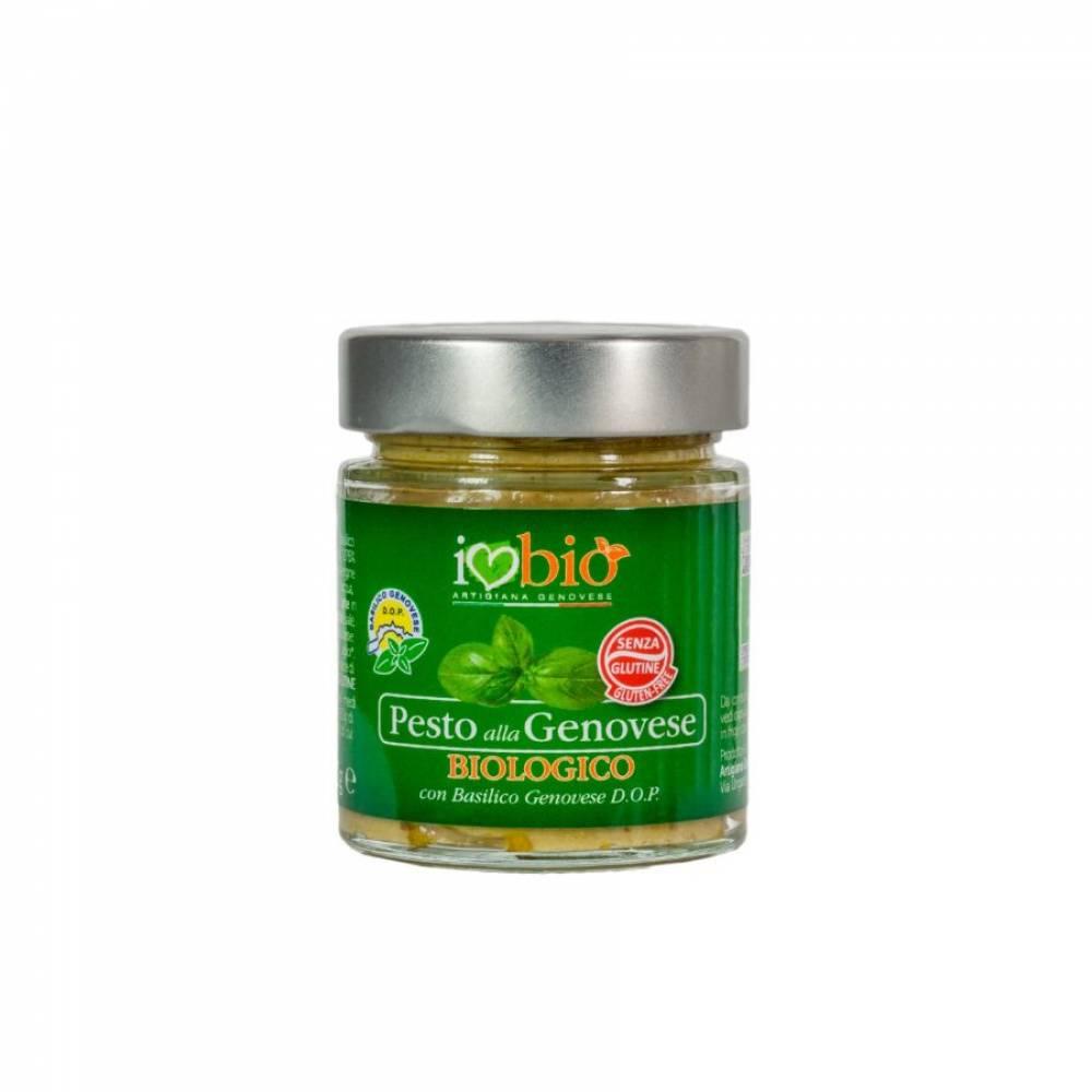 Соус Песто Дженовезе без глютена BIO на оливковом масле, Artigiana Genovese, 130 гр