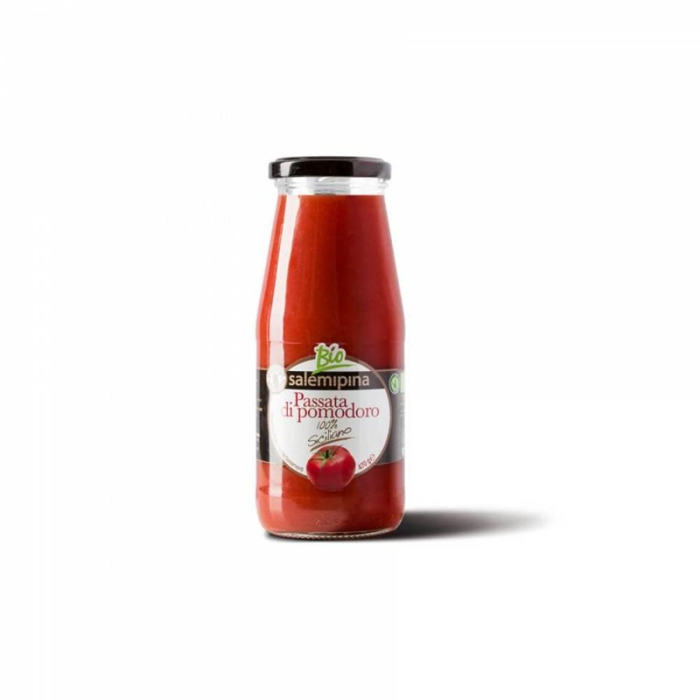 Томатный соус без глютена из помидоров черри Пассата, Salemipina, 420 гр