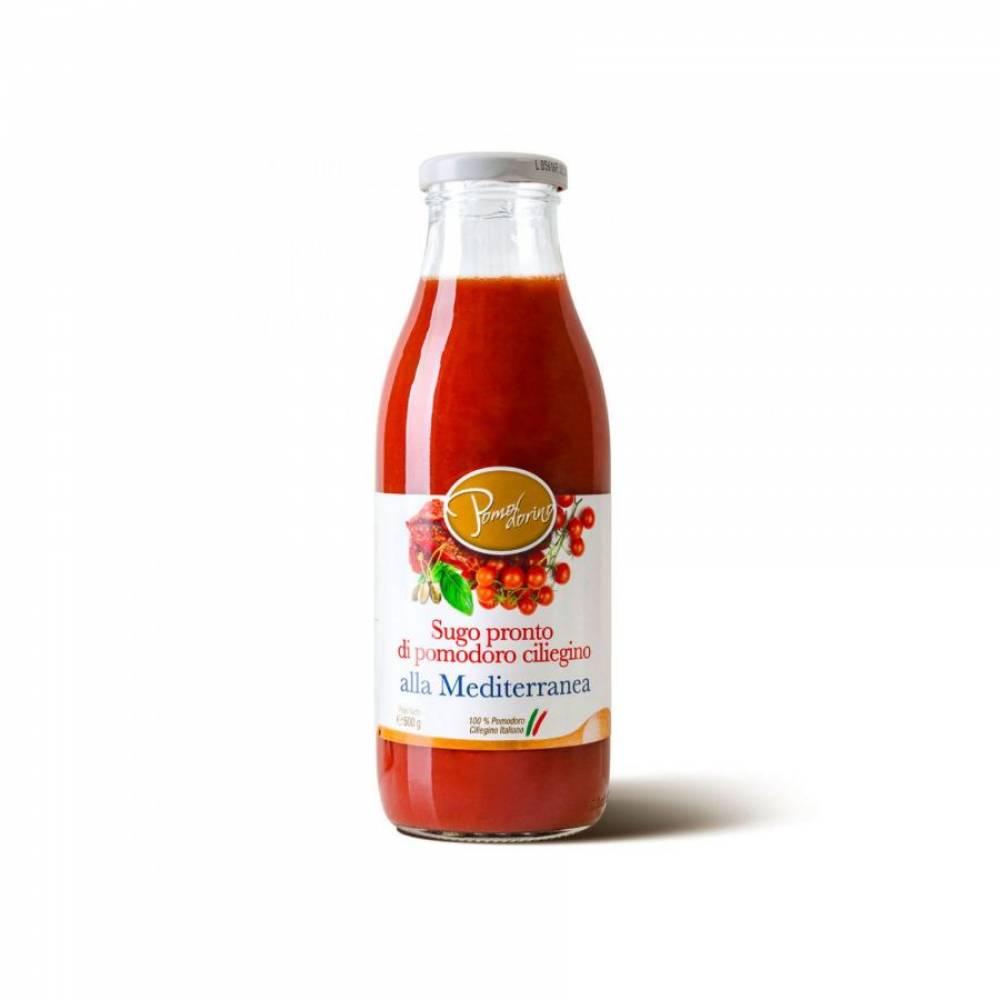 Томатный соус из сицилийских помидоров черри Средиземноморский, Pomodorino, 500 гр