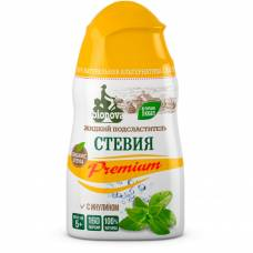 Подсластитель жидкий Стевия Premium Бионова, 80 гр