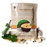 Суп гороховый с копченостями и гренками Алеокс с антиоксидантом из сибирской лиственницы, 30 гр