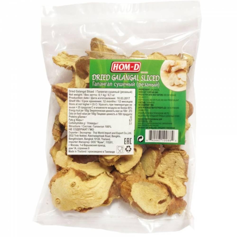 Галангал сушеный резаный United Spices, 100 гр