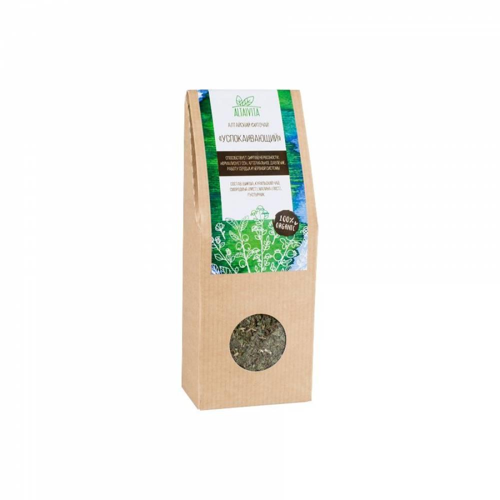 Травяной чай Успокаивающий Altaivita, алтайский, 45 гр
