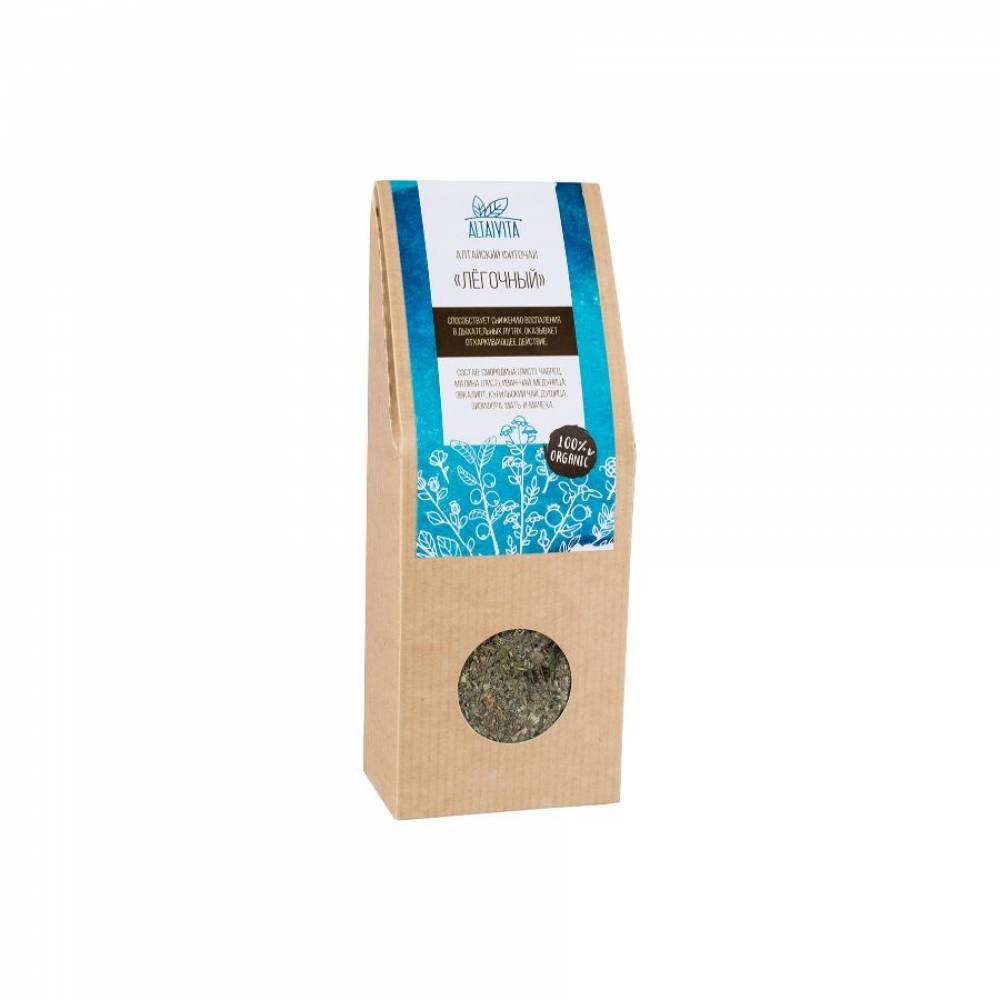Травяной чай Легочный Altaivita, алтайский, 45 гр